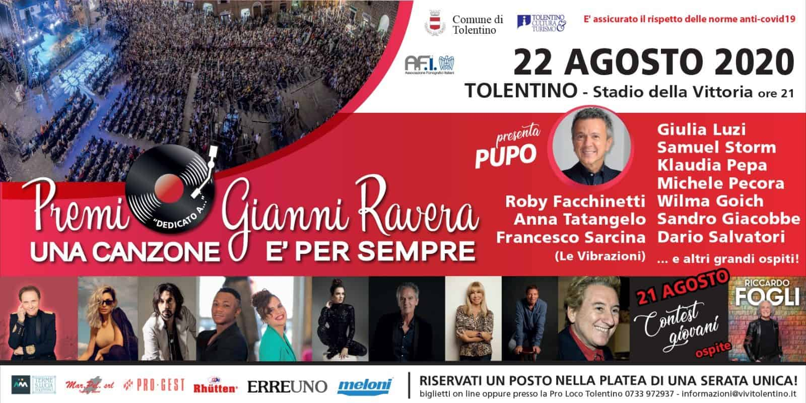 Premio Gianni Ravera 2020 Gran Galà