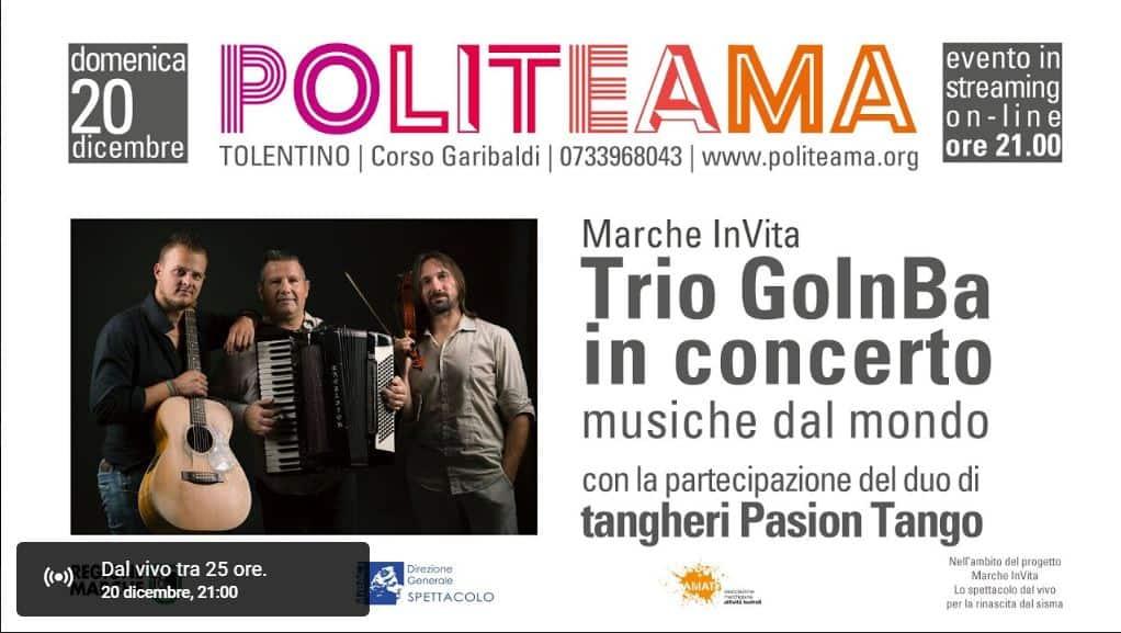 Trio GoInBa in Musiche dal mondo