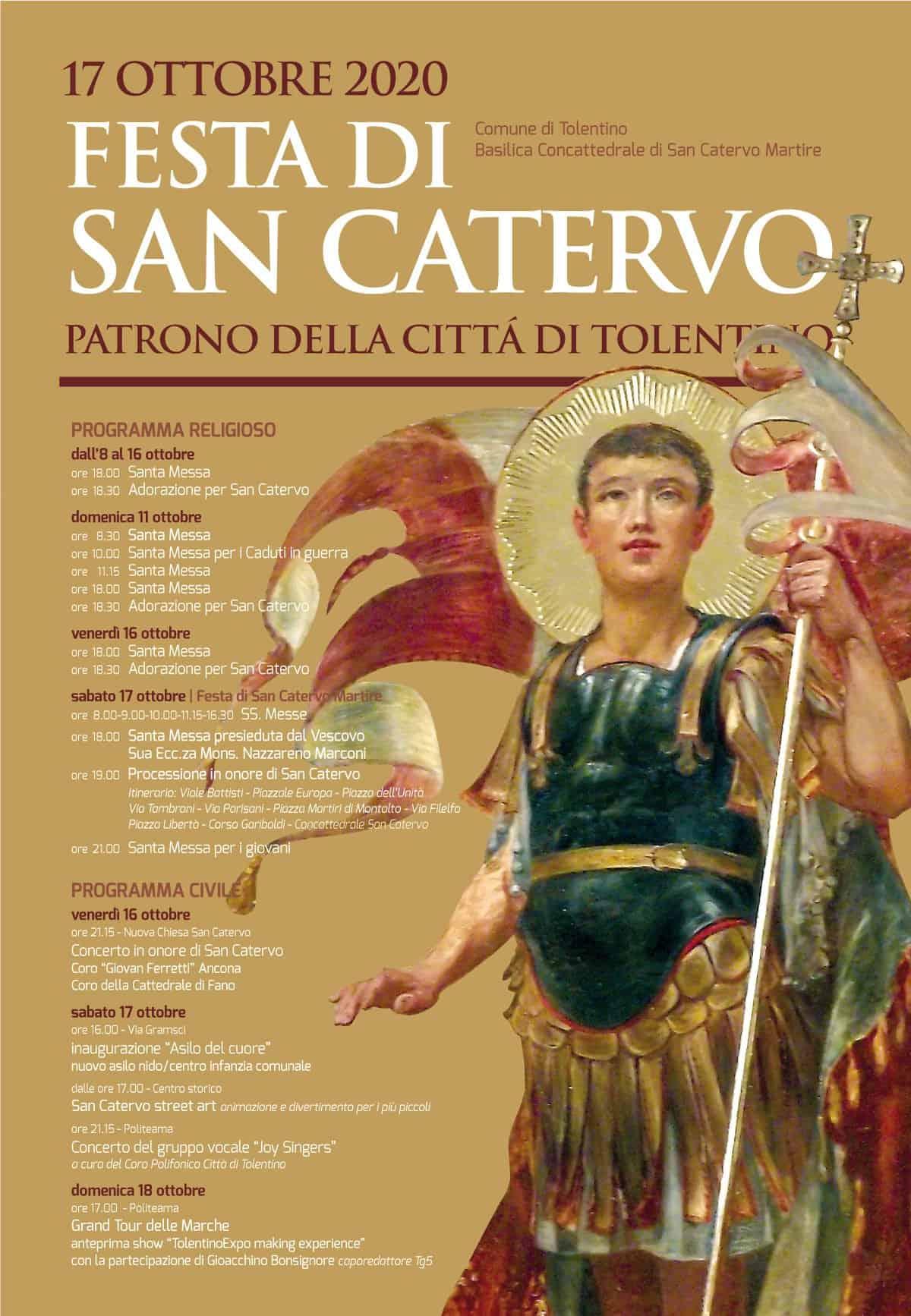 Festa di San Catervo - Patrono della Città di Tolentino