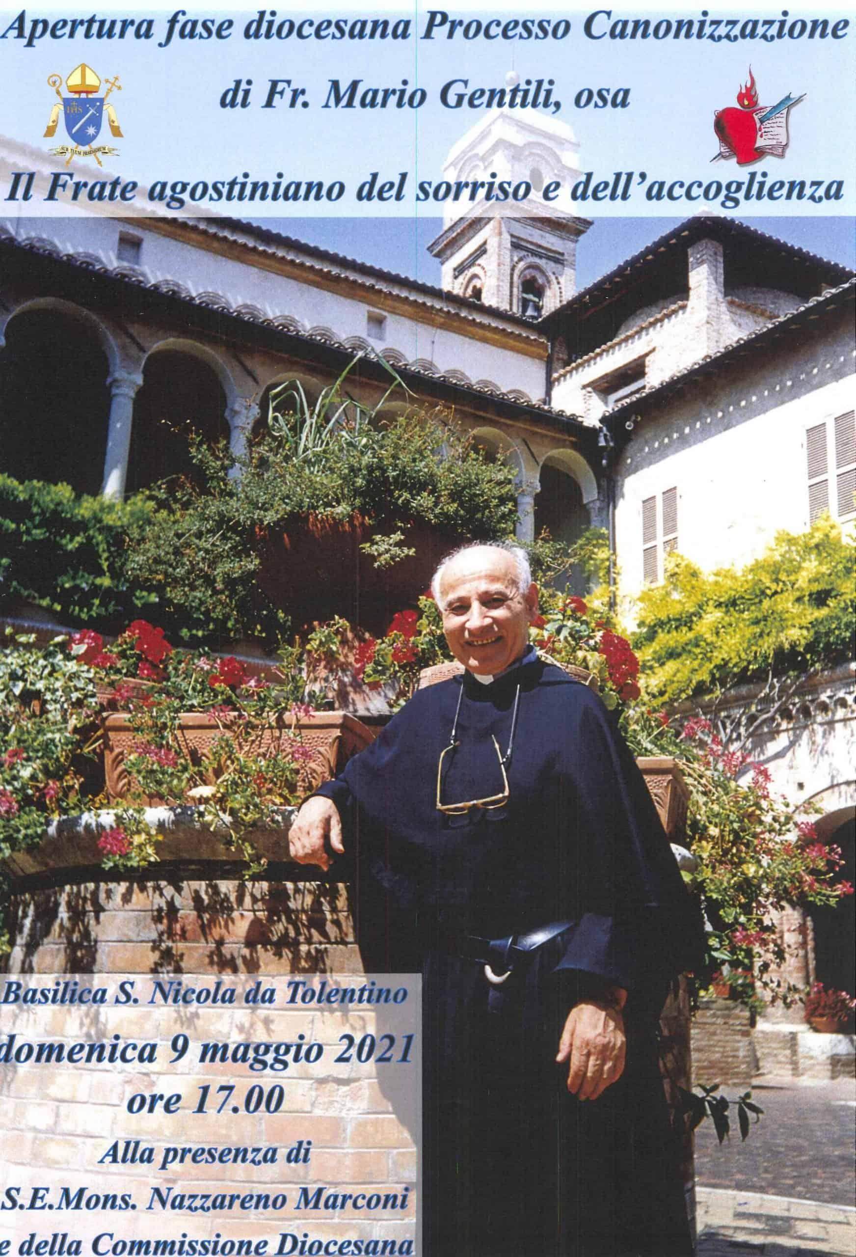 Apertura fase diocesana Processo Canonizzazione di Fr. Mario Gentili