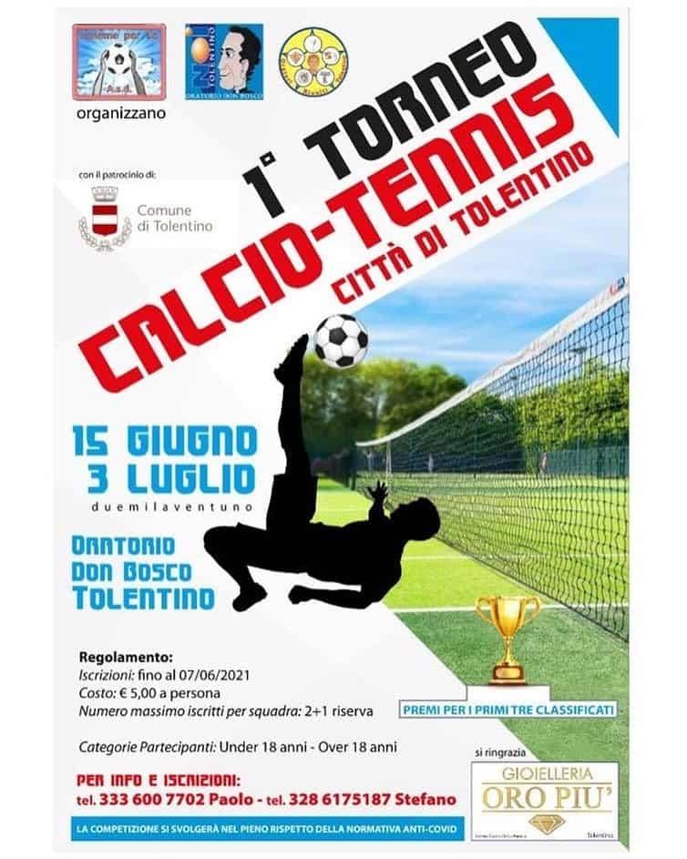 1° Torneo Calcio -Tennis Città di Tolentino