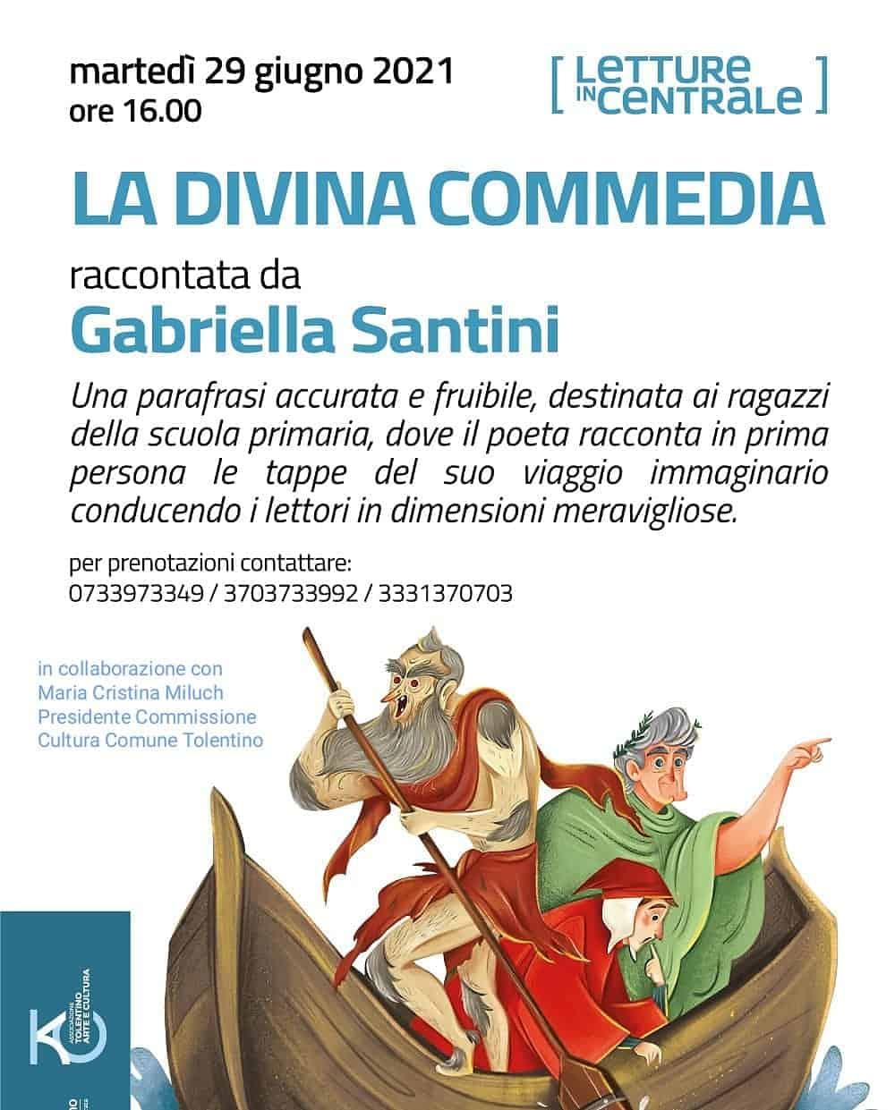 """""""La Divina Commedia"""" raccontata da Gabriella Santini"""