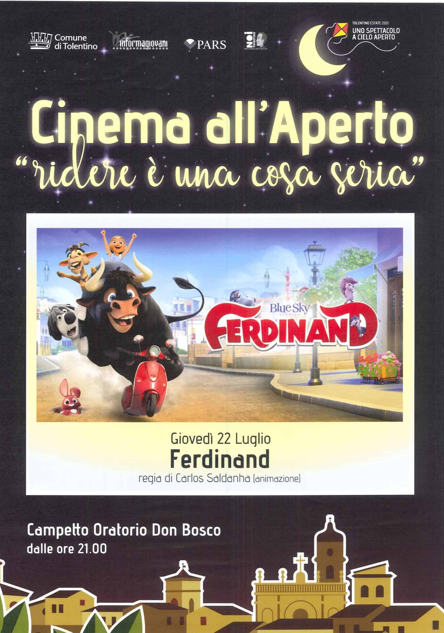 FERDINAND - Cinema all'Aperto