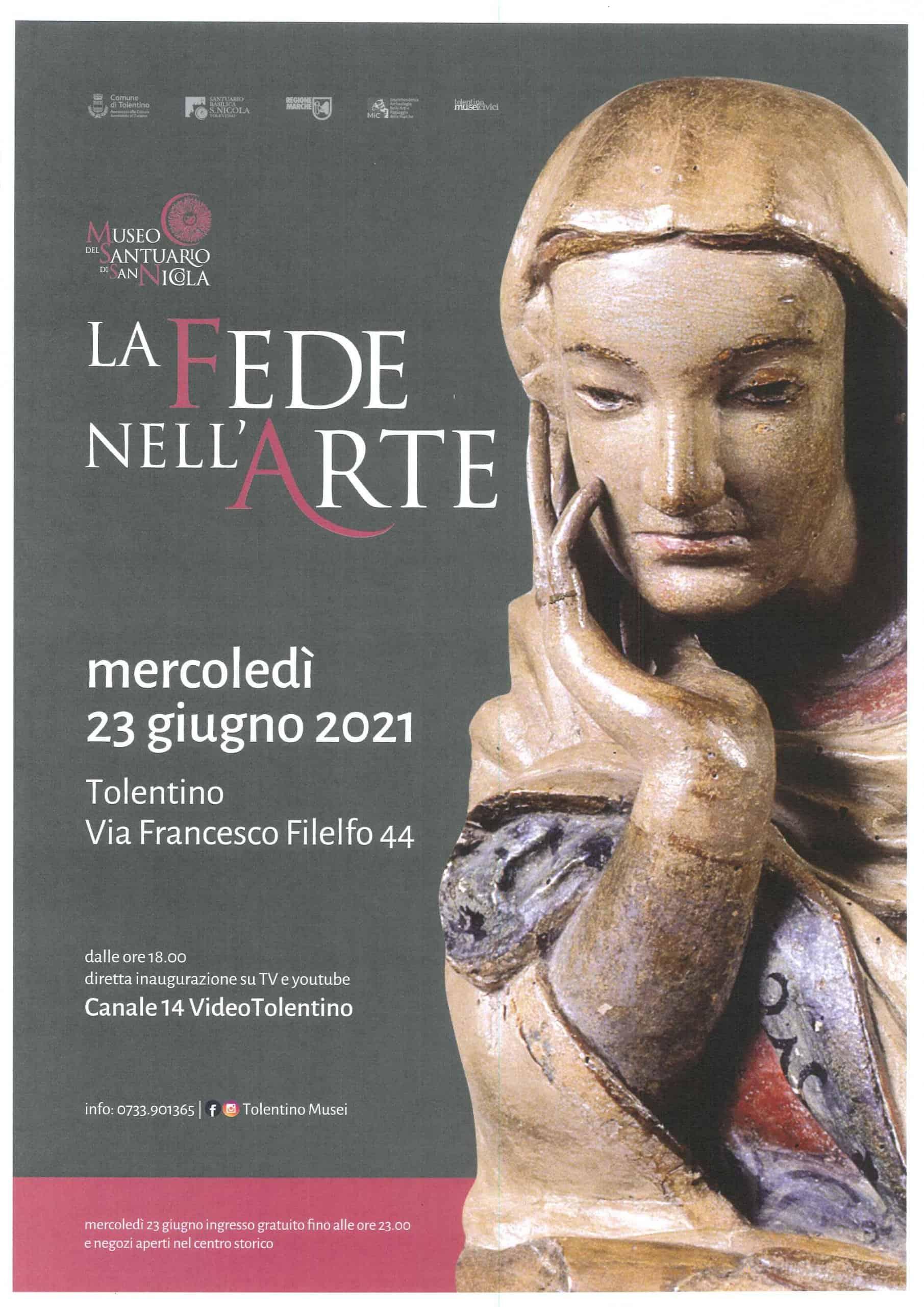 La FEDE nell'ARTE - Opere del Museo del Santuario di San Nicola
