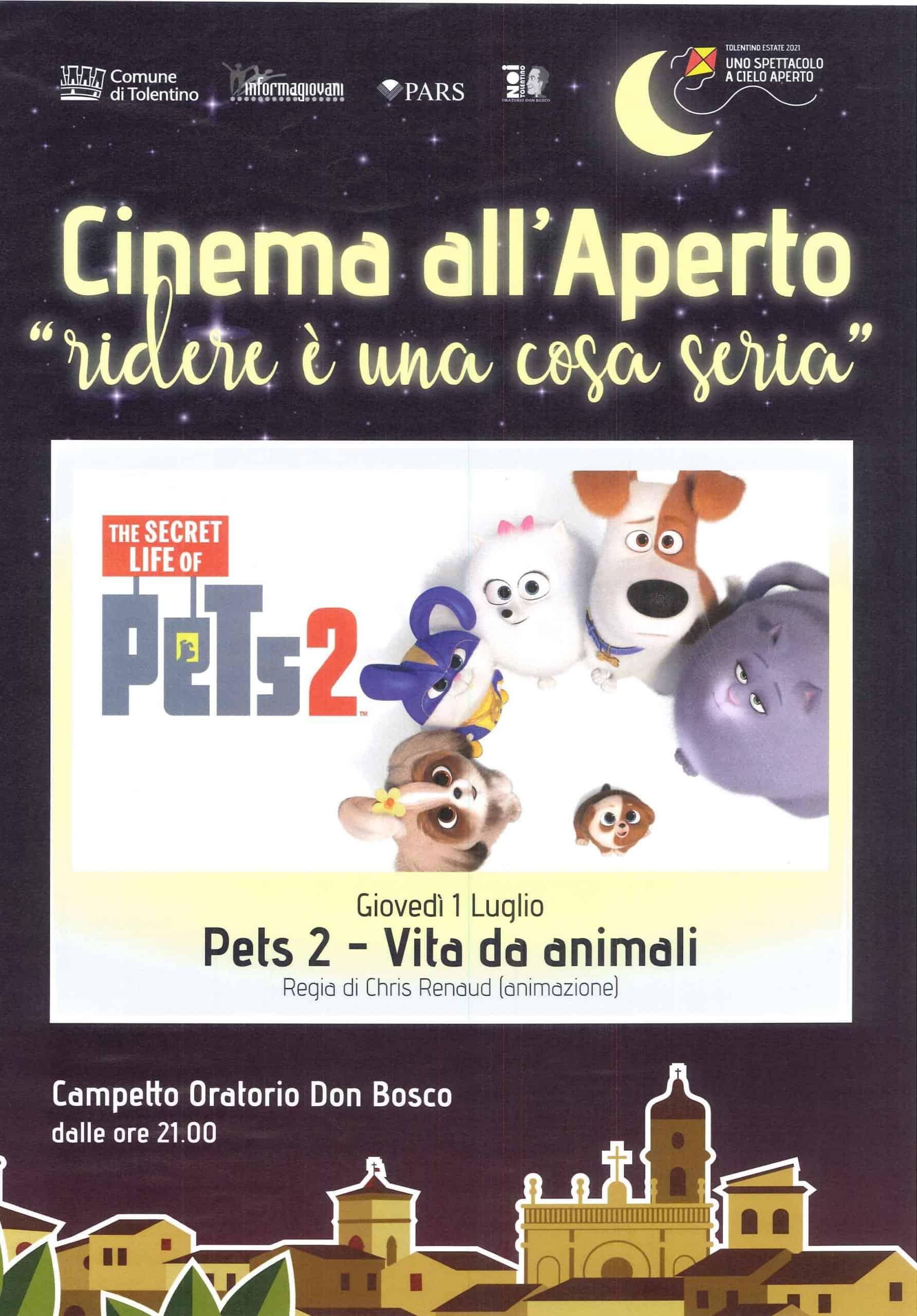PETS 2 - vita da animali - Cinema all'Aperto