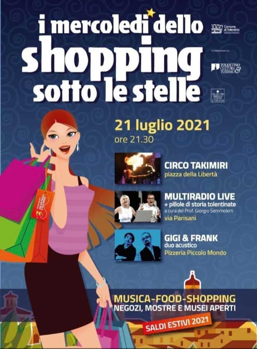 I mercoledì dello Shopping sotto le Stelle