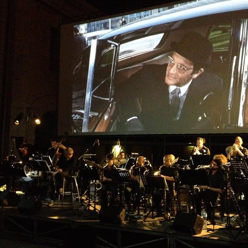 Gabriele Mirabassi e Big Band Movie Medley. Il grande Jazz a Cinecittà